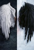 """Обложка книги """"Ангел тьмы, рождённый из пепла"""""""