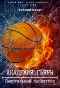 """Обложка книги """"Академия Гьяры. Смертельный баскетбол"""""""