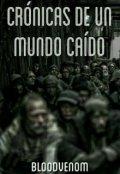 """Cubierta del libro """"Crónicas de un Mundo Caído"""""""