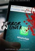 """Cubierta del libro """"Terror en línea"""""""
