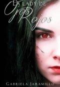 """Cubierta del libro """"La Lady de ojos Rojos"""""""
