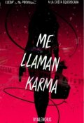 """Cubierta del libro """"Me Llaman Karma"""""""
