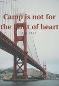 """Обложка книги """"Лагерь не для слабонервных"""""""