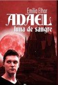 """Cubierta del libro """"Adael Luna de Sangre"""""""