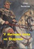 """Обложка книги """"У Миткова поля на Ведроши"""""""