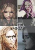 """Cubierta del libro """"Las cuatro amigas"""""""