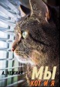 """Обложка книги """"Мы: Кот и Я"""""""