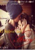 """Cubierta del libro """"El Sabor Del Amor"""""""