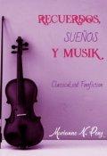 """Cubierta del libro """"Recuerdos, sueños y Musik"""""""