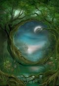 """Обложка книги """"Зачарованный лес"""""""