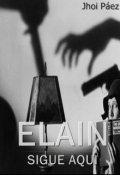 "Cubierta del libro ""Elain."""
