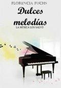"""Cubierta del libro """"Dulces melodías"""""""