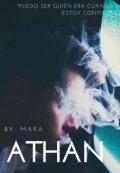 """Cubierta del libro """"Athan."""""""