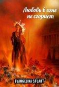 """Обложка книги """"Любовь в огне не сгорает"""""""