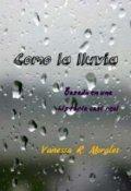 """Cubierta del libro """"Como la lluvia"""""""
