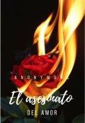 """Cubierta del libro """"El Asesinato del Amor"""""""