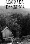 "Cubierta del libro ""Acampada Horrorifica."""