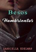 """Cubierta del libro """"Besos Hambrientos"""""""