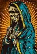 "Обкладинка книги ""Santa Muerte"""