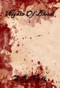 """Cubierta del libro """"Nights Of Blood."""""""