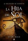 """Cubierta del libro """"La hija del Sol"""""""