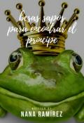 """Cubierta del libro """"Besando sapos para encontrar el príncipe"""""""
