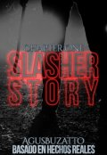 "Cubierta del libro ""A Slasher Story: Chapter One"""