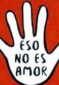 """Cubierta del libro """"Eso no es amor """""""