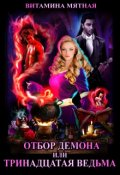 """Обложка книги """"Отбор Демона, Или Тринадцатая Ведьма"""""""