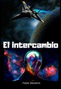 """Cubierta del libro """"El intercambio (inmigración espacial)"""""""