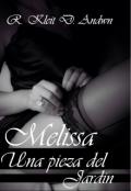 """Cubierta del libro """"Melissa Una  Pieza del Jardín"""""""
