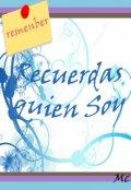 """Cubierta del libro """"Recuerdas quien soy"""""""