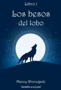 """Cubierta del libro """"Los besos del lobo"""""""