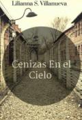 """Cubierta del libro """"Cenizas En El Cielo."""""""
