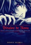 """Cubierta del libro """"Pétalos de Rosas"""""""