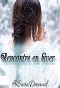 """Book cover """"Rencontre en hiver"""""""
