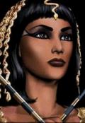 """Обложка книги """"Клеопатра. О чем поведали надгробные фрески. Часть 1"""""""