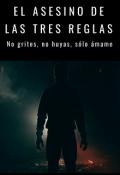 """Cubierta del libro """"El asesino de las tres reglas"""""""