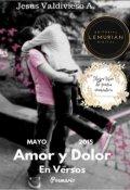 """Cubierta del libro """"Amor y dolor en versos"""""""