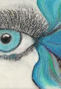 """Обложка книги """"Серебряная рыбка в голубых глазах поэта"""""""