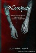 """Cubierta del libro """"Necrópolis: La ciudad de los muertos."""""""