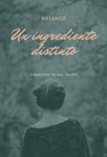 """Cubierta del libro """"Un ingrediente distinto"""""""
