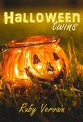 """Cubierta del libro """"Halloween Twins"""""""