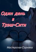 """Обложка книги """"Один день в Трэш-Сити"""""""