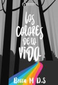 """Cubierta del libro """"Los colores de la vida"""""""