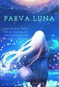 """Cubierta del libro """"Parva Luna"""""""