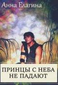 """Обложка книги """"Принцы с неба не падают"""""""