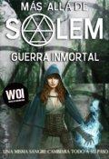 """Cubierta del libro """"Mas allá de Salem: Guerra Inmortal"""""""