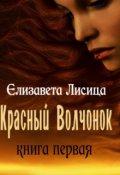 """Обложка книги """"Красный волчонок. Книга первая"""""""