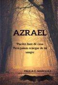 """Cubierta del libro """"Azrael """""""